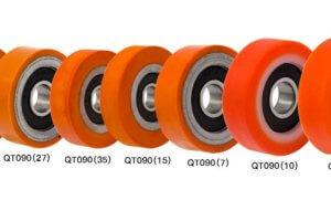 Термостойкие ролики с полиуретановым покрытием